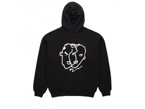 Mikina Polar Two Sided Hoodie Black