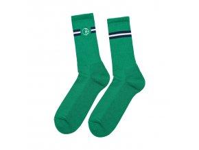 Ponožky Polar Stroke Logo Socks Green/Navy/White