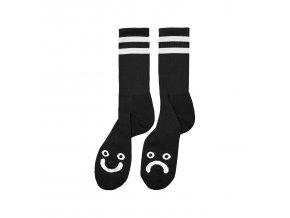 Ponožky Polar Happy Sad Socks Black