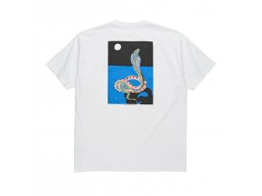 Triko Polar Midnight Snake Tee White