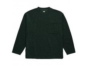 Triko Polar Terry Pullover Dark Green