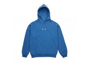 Mikina Polar Default Hood Mykonos Blue