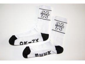 Ponožky Darkslide Mid White/Black