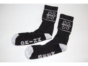 Ponožky Darkslide Mid Black/White