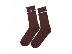 Ponožky Polar Stroke Logo Socks Brown/Navy/White
