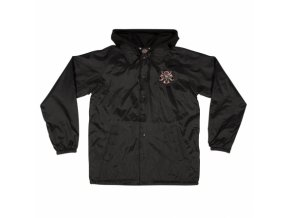 Bunda Independent x Thrasher Pentagram Cross Hooded Windbreaker Black