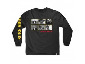 Triko Girl x Beastie Boys Sure Shot Longsleeve Black