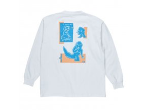 Triko Polar Dirty Boys Longsleeve White