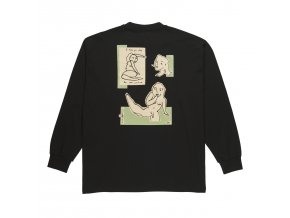 Triko Polar Dirty Boys Longsleeve Black
