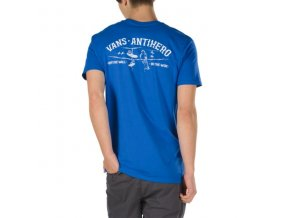 Triko Vans x Antihero On The Wire Tee Royal Blue
