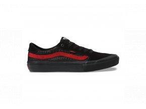 Boty Vans Style 112 Pro (Baker) Black/Black/Red