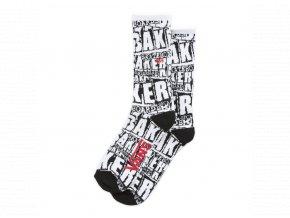 Ponožky Vans x Baker Crew White Socks