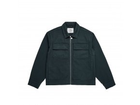 Bunda Polar Twill Jacket Grey/Teal