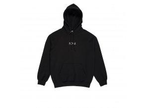 Mikina Polar Default Hood Black