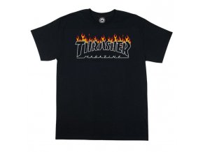 Triko Thrasher Outline Black
