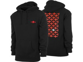 Mikina Independent Baker 4 Life P/O Hooded Black