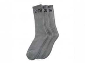 Ponožky Vans Classic Crew Heather Grey