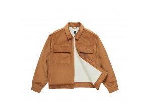Bunda Polar Cord Jacket Tan