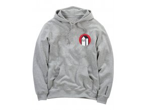 Mikina Lousy Livin Hooded House (Heather Gray)