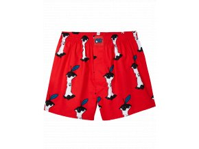 Trenýrky Lousy Livin Boxershorts Apple (Red)