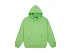 Mikina Polar Default Hood Summer Green