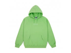 Mikina Polar Default Hood Summer Green