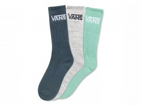 Ponožky Vans Classic Crew Dusty Jade Green Assorted