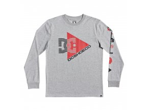 Triko DC Omnicutt LS Grey Heather