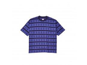 Triko Polar Square Stripe Surf Tee Navy/Purple