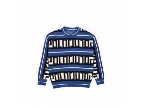 Svetr Polar Square Logo Knit Blue