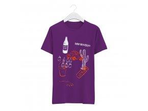 Triko Darkslide.cz x KZW Dry Season (Purple)