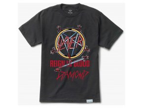 Triko Diamond x Slayer Reign In Blood Tee Black