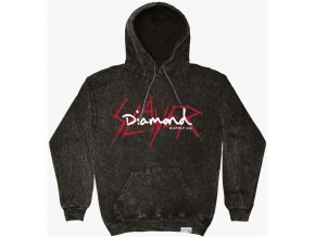 Mikina Diamond x Slayer Hoodie Black
