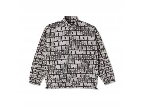 Mikina Polar Fleece Pullover 2.0 Black/Ivory