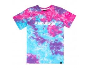 Triko Kamuflage Messy Tie Dye