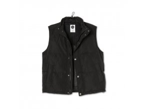 Péřová vesta Polar Puffer Vest Black