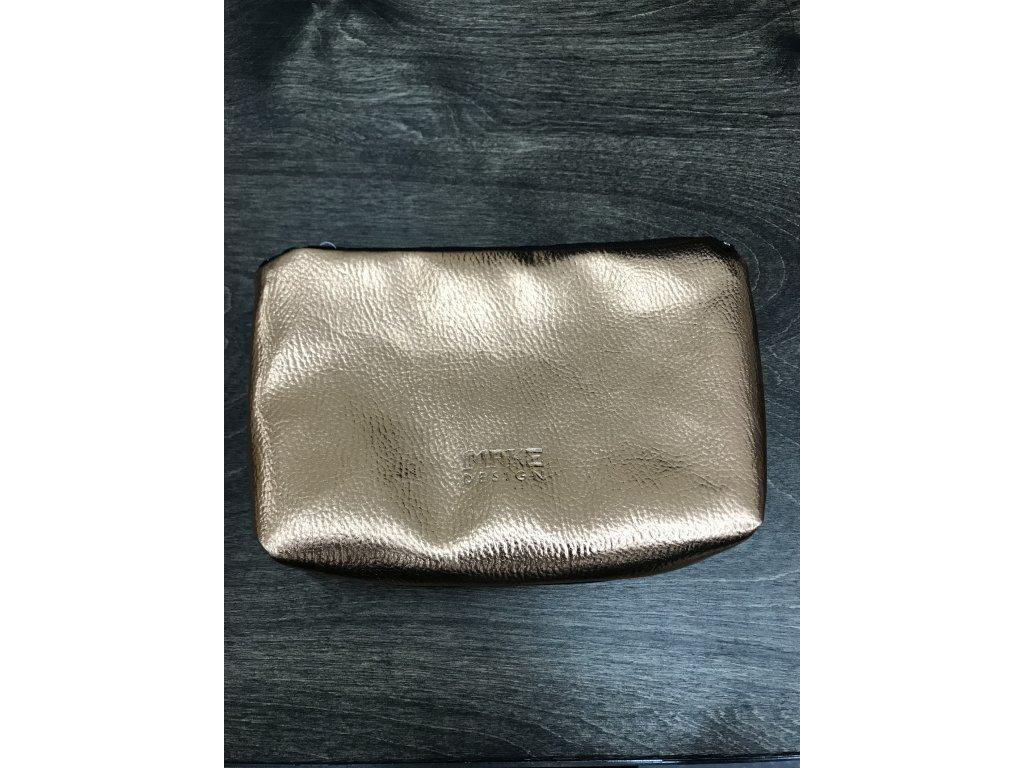 make design make-up bag - taštička na drobnosti nebo kosmetiku rosegold