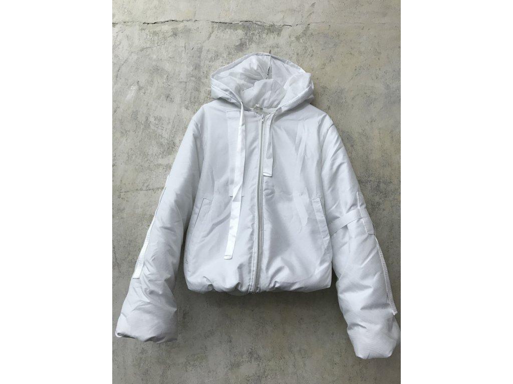 PRINCESS TIRAMISU zimní bunda bílá pouffer