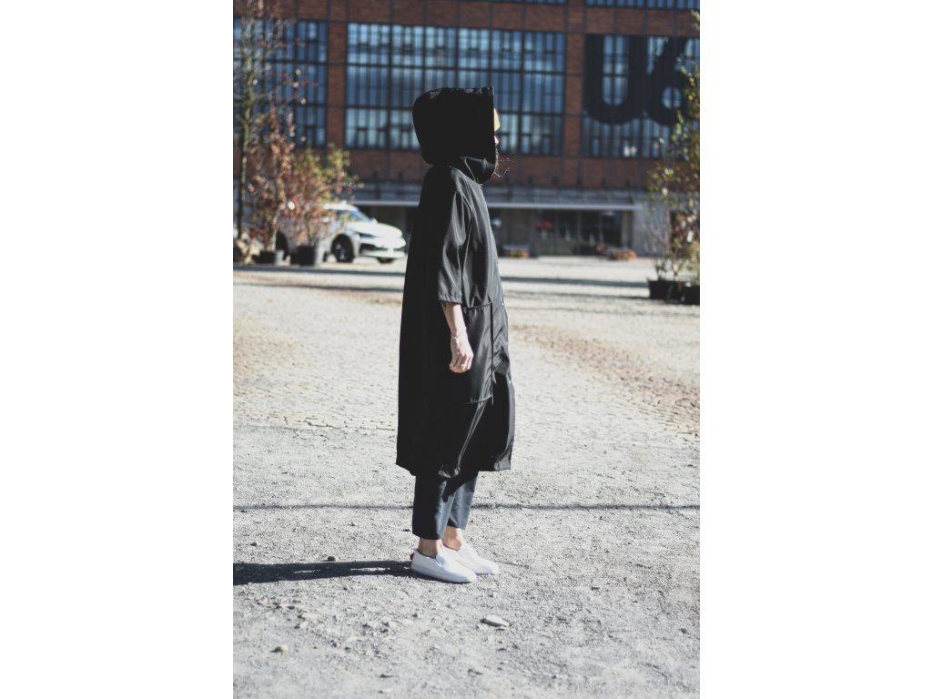 3581 4 jacket sleeve cut black