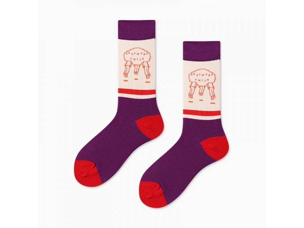 COUPLES Ponožky DREAMERS UNITE