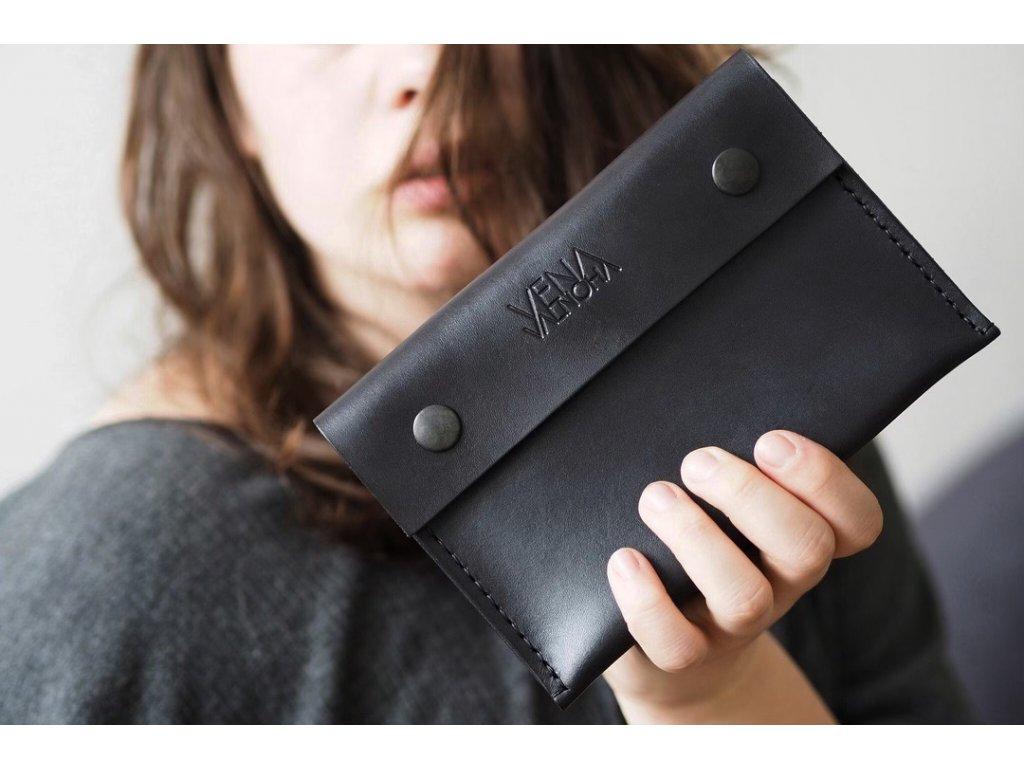VENA VALNOHA peněženka LANG černá velká