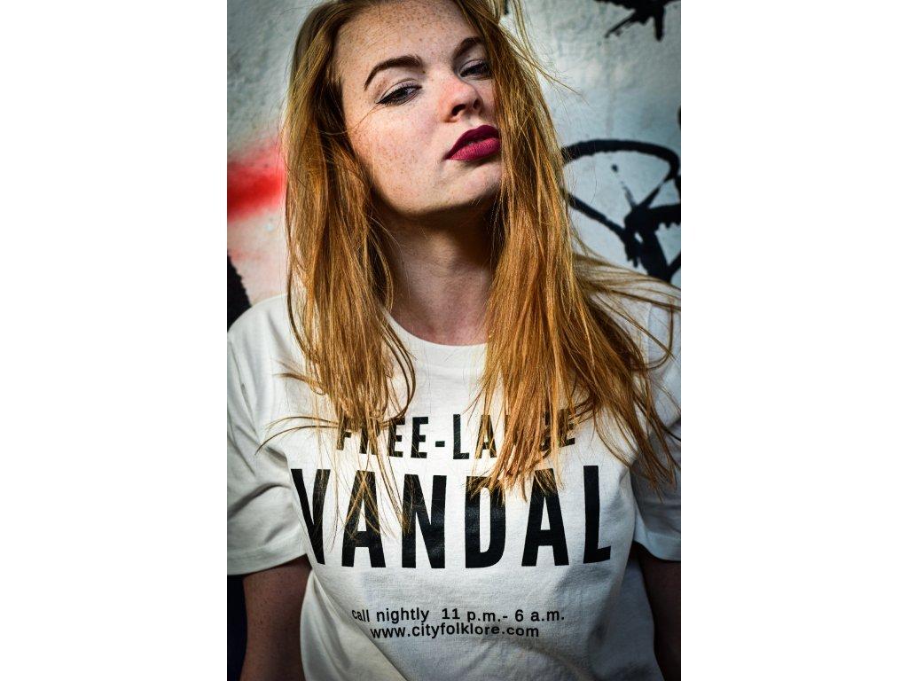 4439 10 triko free lance vandal unisex