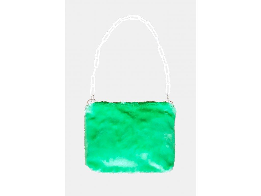 FLUFFS green purse