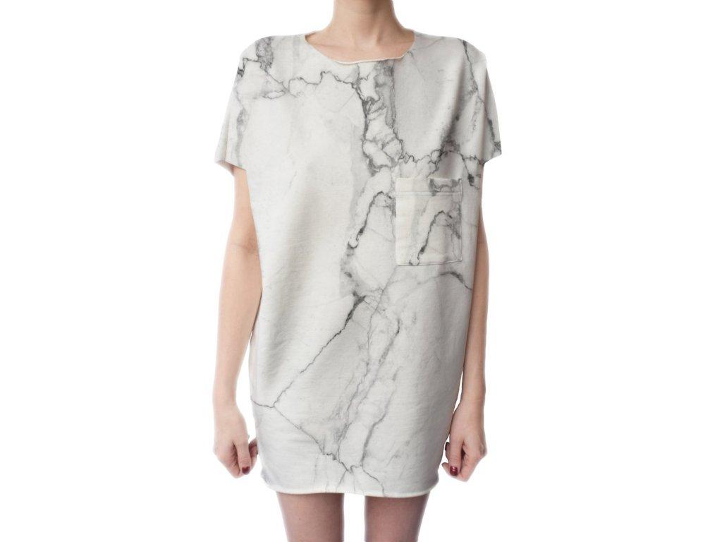 BUTTER KINGS Shirt Dress /marble