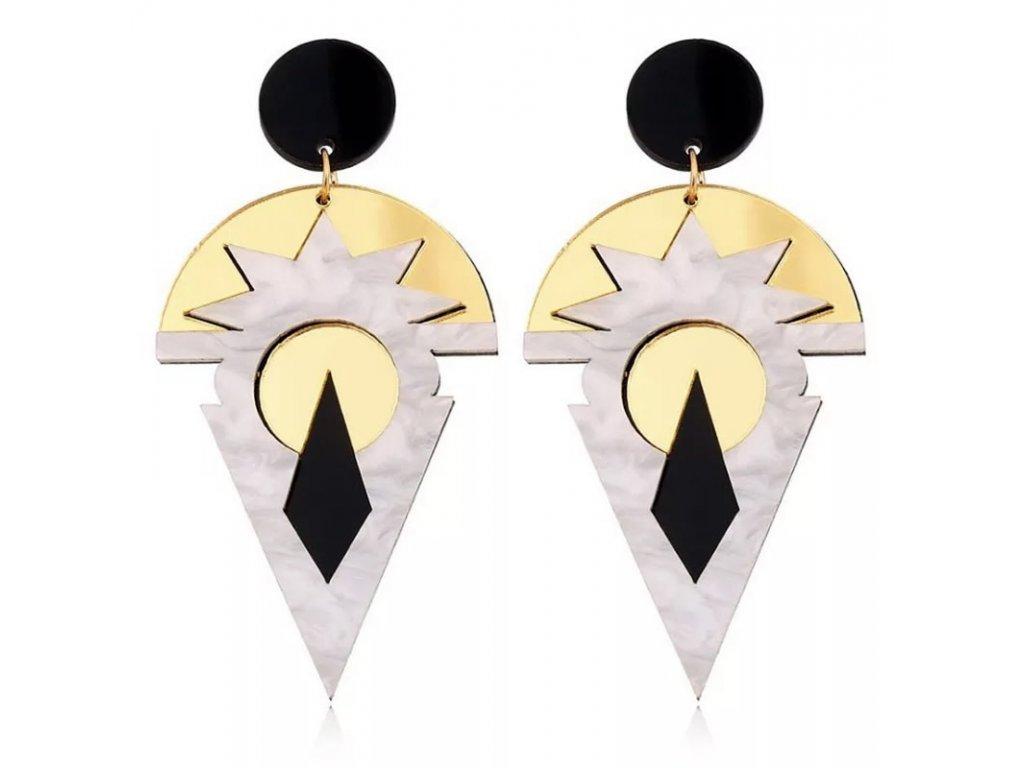 Náušnice AZTEC GOLD