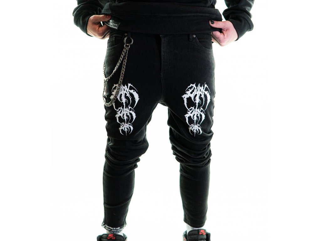 DARK / BLADEXLINES / NTRXZ Colab Collection - unisex skinny jeans