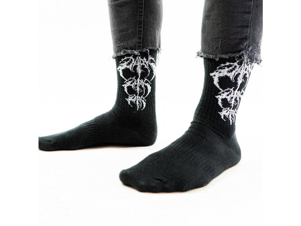 DARK / BLADEXLINES / NTRXZ Colab Collection - ponožky černé