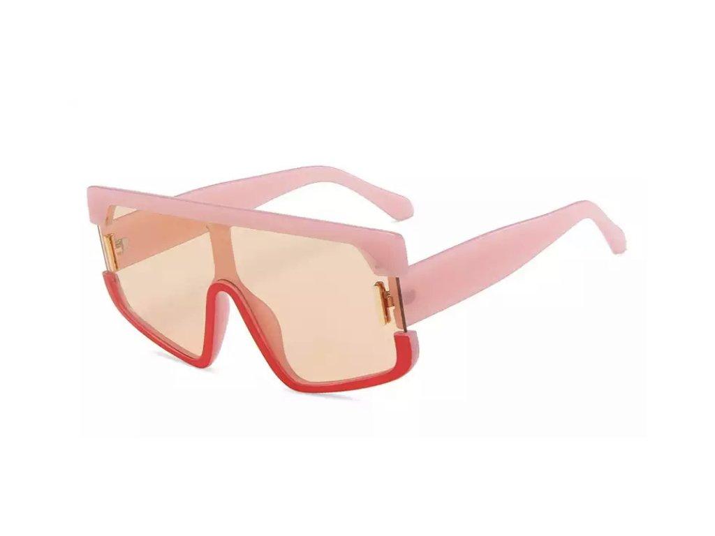 Sluneční brýle Rocka Shades Harant - růžové