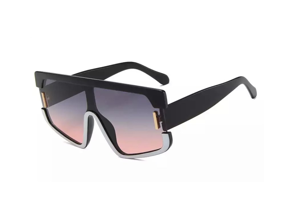 Sluneční brýle Rocka Shades Harant - růžovočerné