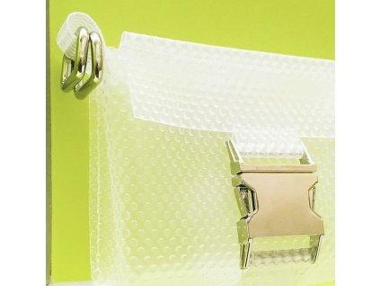 tny.3 kabelka / ledvinka Waistbag Small - průhledná